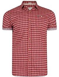 Lee Cooper Barling camiseta de manga corta de algodón Nordic patrón