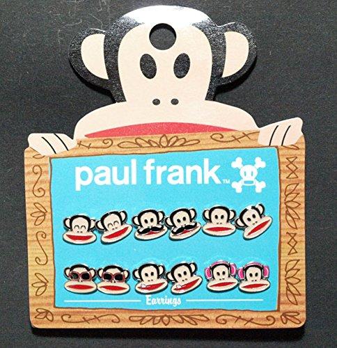 earring-pack-paul-frank-julius-face-set-6-anime-new-licensed-pfe0004