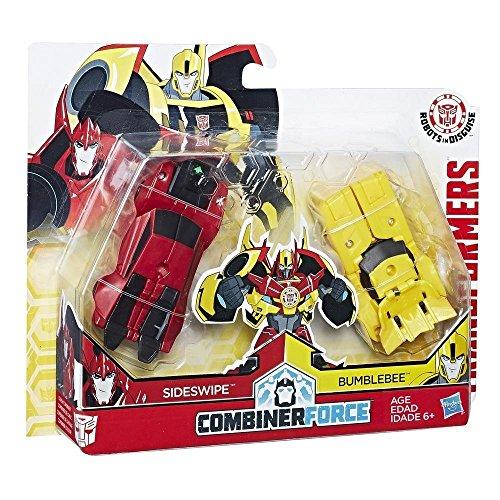 Transformers c0630es0 - personaggio rid crash combiner, bumblebee & sideswipe