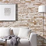 wodewa Holz Wandverkleidung Vintage Optik I 1m² Nachhaltige Echtholz Wandpaneele Moderne Wanddekoration Holzverkleidung Holzwand Wohnzimmer Küche Schlafzimmer V009