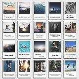 Postkarten Set 'Motivation' 20 motivierende Sprüche im Polaroid Design von INDIVIDUAL NOMAD