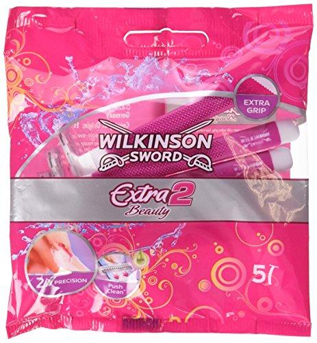Wilkinson Sword Extra 2 Beauty Einwegrasierer 5 Stück, 2er Pack (2 x 5 Stück)