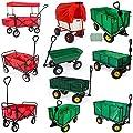 TecTake Heavy duty wheelbarrow garden trolley mesh cart - different models -