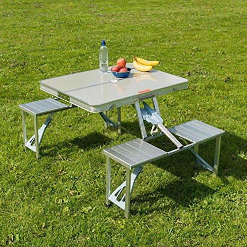 gartenb nke mit tisch picknick tisch infos und empfehlungen. Black Bedroom Furniture Sets. Home Design Ideas