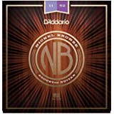 D'Addario NB1152 - Juego De Cuerdas Acústicas, Custom Light 11-52