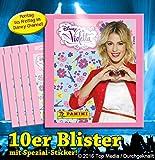 Disney/Panini - Violetta Sammelsticker Serie 3 Blister mit 10 Tütchen / 50 Stickern sowie 1 Spezial Sticker
