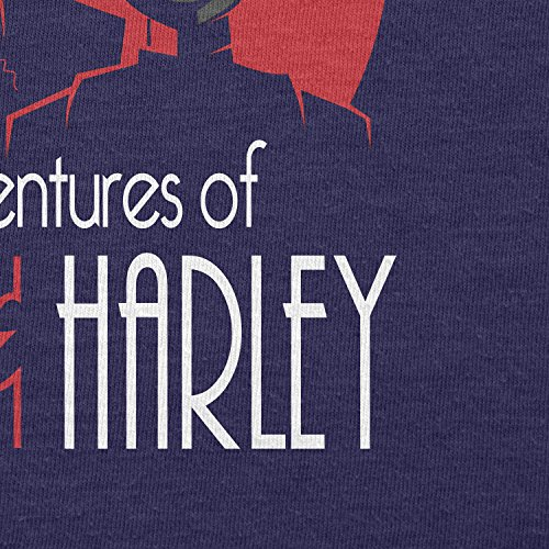 TEXLAB - The Adventures of Mista J and Harley - Damen T-Shirt Navy