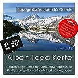 Alpen Garmin Karte Topo - 8 GB (Deutschland Schweiz Italien Österreich Frankreich) Topografische GPS Freizeitkarte für Fahrrad Wandern Touren Trekking Outdoor. Navigationsgeräte, PC & Mac