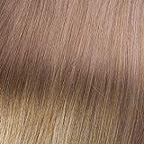 hair2heart 50 x 1g Echthaar Bonding Extensions, gewellt - 40cm - #10 straßenköterblond, Keratin Haarverlängerung Bondings