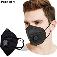 Unyks Star Anti Pollution Mask | Advanced inbuilt 5 layer filter | Premium Quality - Pack of 1