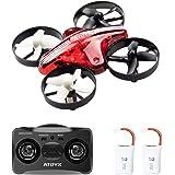 ATOYX AT-66 Drone Mini,Quadcpter avec Mode sans Tête Hauteur Fixe 3D Roller ,Mode 6-Axe Gyro Headless Jouet d'hélicoptère Cadeau pour Enfant/ Débutant - Rouge