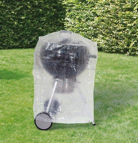 Friedola Housse pour barbecue rond - bbq - Grill - Bache de protection Ø70x90cm transparent