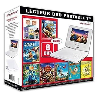 MP Electronics–Portable DVD player + 8DVD Box Funny
