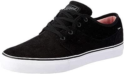 Globe Boys Mahalo Skateboarding Shoes, Black (Black Cord 000), 4 UK