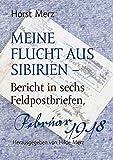 Meine Flucht aus Sibirien: Bericht in sechs Feldpostbriefen, Februar 1918 - Horst Merz