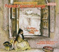 Canciones Populares Espanolas - Spanish Songs