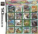 208 Juegos en 1 Tarjeta de Paquete de Juego NDS Super Combo Multi Cartucho para DS NDS NDSL NDSi 3DS 2DS XL