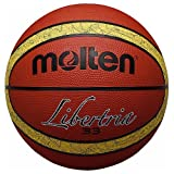 Molten 33Basketball, anerkannt von Libertria FIBA, Tan/Tan, Größe 6
