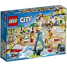 LEGO City Town - Pack de minifiguras: Diversión en la playa (60153)