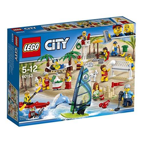 Lego-bau-zubehör (LEGO City 60153 - Stadtbewohner Ein Tag am Strand)
