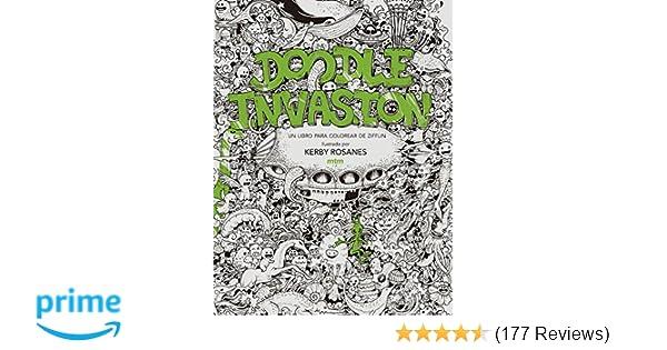 Doodle invasión. Un libro para colorear de Ziffin: Amazon.co.uk ...