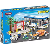 BOMB SQUAD 550 Pieces NEW OXFORD Blocks ST33337 TOWN Kids Block Kit