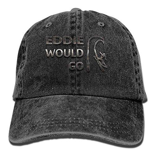 Miedhki Eddie Would Trenddruck Cowboyhut Mode Baseballmütze ForBlack ()