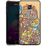 Samsung Galaxy A3 (2016) Housse Étui Protection Coque New York couleurs Ville