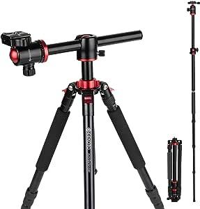 Geekoto Stativ Kamera 190cm Für Canon Nikon Sony Dslr Elektronik
