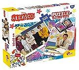 Lisciani Giochi 57177 - Puzzle Df Plus 108 Alex & Co