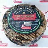"Queso de oveja curado al romero ""Flor de Romero"" Roblemancha 2 kg"