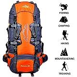 Gohyo Sac à Dos Randonnée Bagage Backpack 80L Léger Etanche Unisexe pour Voyage Alpinisme Camping Trekking
