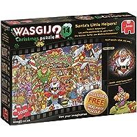 Jumbo 19162 Christmas 14 Santa's Little Helpers Jigsaw Puzzle, Multi