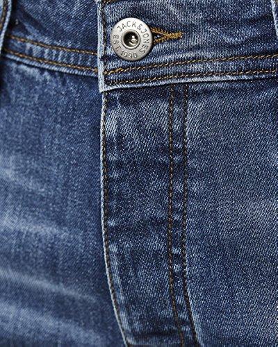 Jack & Jones Homme Tim original 078 Slim Fit Jeans, Bleu AM078