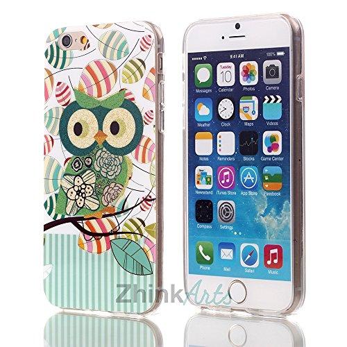 zhink Arts Chouettes Étui de protection avec motifs différents pour iPhone & Samsung Housse Case Cover style Bird Chouette Eule M5