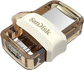 VSP - Enterprises SanDisk Ultra Dual 32GB USB 3.0 OTG Pen Drive (Gold) Combo (Pack of 2)
