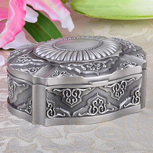 Julytong creative astucci per gioielli scatole e gioielli elegante la multa home desktop portagioie gioielli box retrò-12.7x10x5.5cm