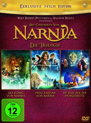 Die Chroniken von Narnia - Die Trilogie [3 DVDs]