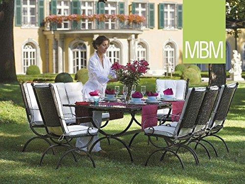 Hochwertige MBM Schmiedeeisen Sitzgruppe Romeo / Gartentisch / Esstisch / Terrassentisch / Outdoor