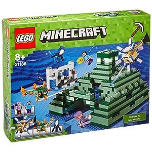 """Lego Minecraft 21136 – """"Das Ozeanmonument Konstruktionsspiel, bunt"""
