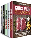 Appliances Best Deals - Cooking Devices Box Set (5 in 1) : 150 Sous Vide, Air Fryer, Instant Pot, Slow Cooker Recipes for Scrumptious Dinners (Special Appliances Book 2) (English Edition)
