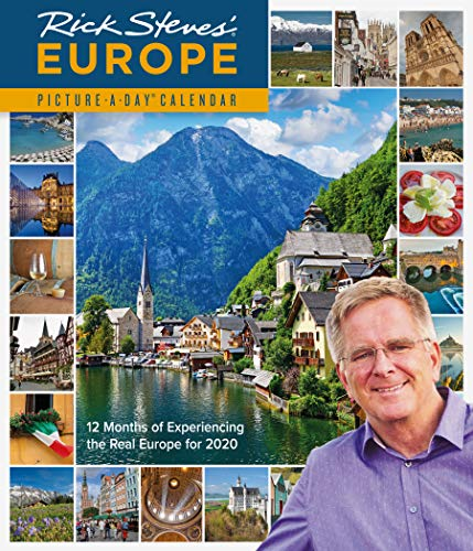 2020 Rick Steves Europe Picture-A-Day Calendar