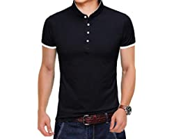 Tansozer Polo Shirts with 4 Buttons