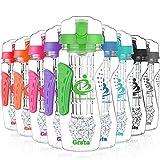 Grsta Beste Frucht Infuser Wasserflaschen Trinkflaschen - 1000ml
