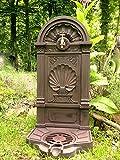 Antikas - fuentes decorativas de jardín con grifo de latón -...