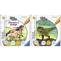 Ravensburger- tiptoi®- Livre interactif- Mini Doc'- Les Chevaux et poneys- A partir de 4 Ans- 00 031 & tiptoi®- Livre…
