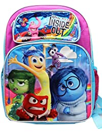 Preisvergleich für Disney Pixar's Inside Out Blue and Purple Full Size Backpack (16in)