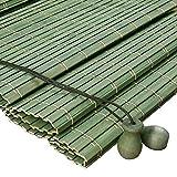 JIANFEI-Tenda di bambù Filtraggio della Luce Decorazione Domestica Tenda A Rullo Protezione Solare, 6 Colori, 12 Formati Personalizzabile (Colore : 3#, Dimensioni : 50x180cm)
