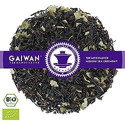 """Nr. 1128: BIO Schwarzer Tee """"Schwarze Johannisbeere"""" - 250 g - GAIWAN® TEEMANUFAKTUR - Schwarztee aus Indien, Johannisbeeren, Johannisbeerblätter, Loser Tee Bio, Biotee, Organic Tea"""