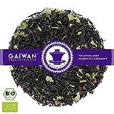 "Núm. 1128: Té negro orgánico""Zarzaparrilla (grosellero negro)"" - hojas sueltas ecológico - 250 g - GAIWAN GERMANY - té negro de la India, grosellas, grosella roja"
